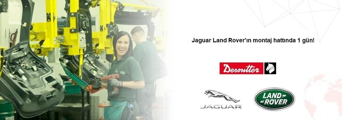 Urmăriți cum decurge o zi la linia de asamblare a Jaguar Land Rover