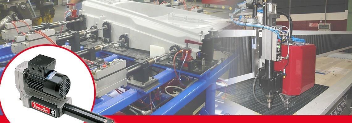 Desoutter Tools creează maşini de găurit cu avans automat (AFD) şi tarozi, realizate pentru a fi integrate cu uşurinţă într-un utilaj sau un proces. Performanţă şi design modular, solicitaţi o estimare de preţ!