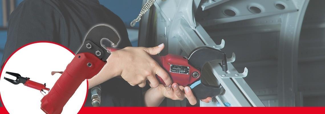 Desoutter Tools a conceput o gamă completă de scule pneumatice de compresie pentru industriile producătoare de maşini şi aeronautică. Solicitaţi o estimare de preţ sau o demonstraţie!