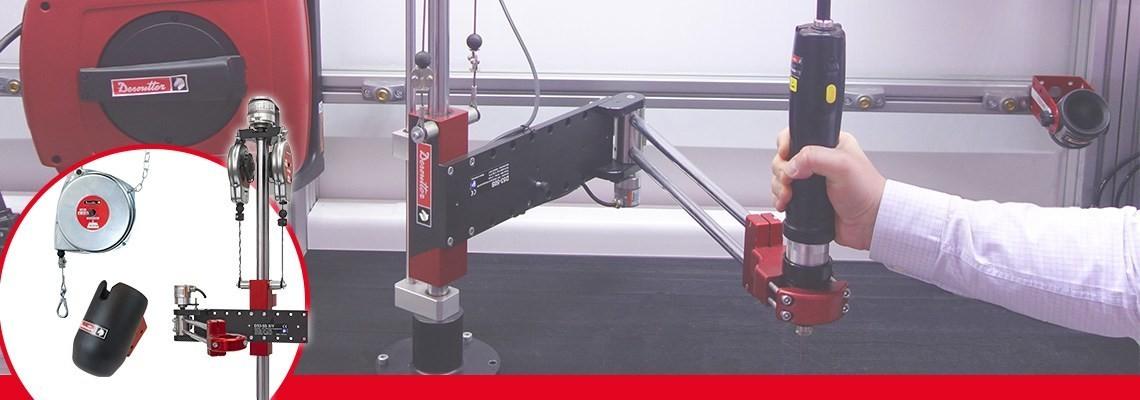Pentru a creşte performanţa sculelor şi a staţiilor dvs. de lucru. Desoutter Industrial Tools propune o gamă amplă de produse. Contactaţi-ne pentru o demonstraţie.
