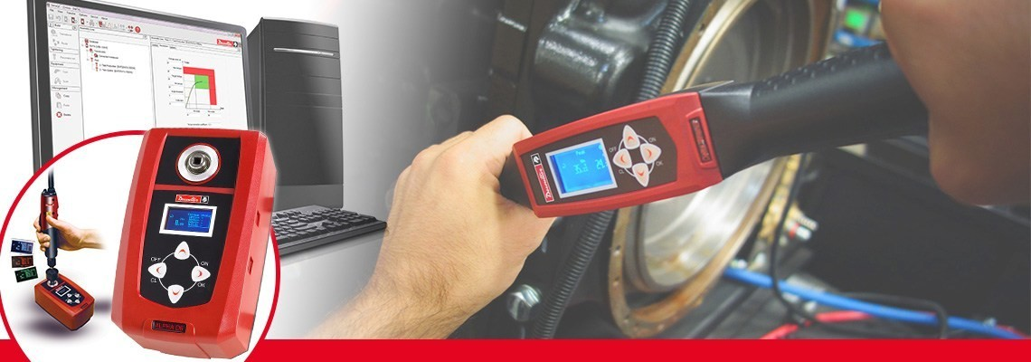 Testerul alfa digital de cuplu conceput de Desoutter Tools vă permite să monitorizaţi şi să colectaţi rezultatele de verificare a cuplului de la şurubelniţe, chei dinamometrice sau chei cu clichet.