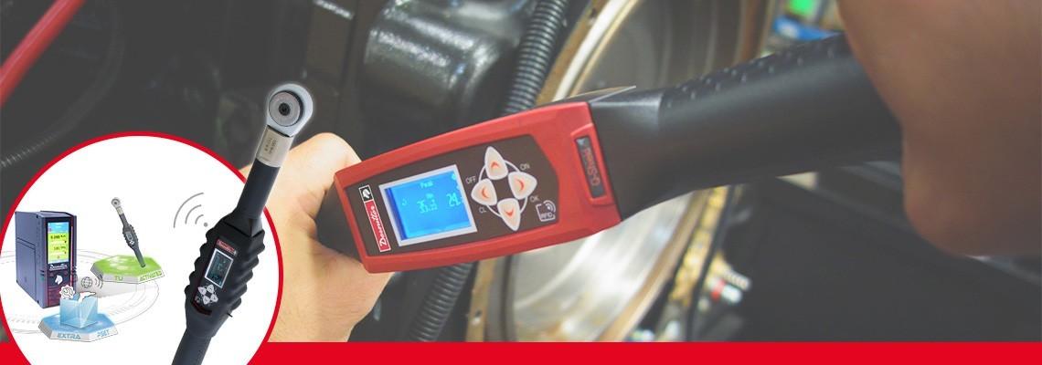 Căutaţi o sculă care îmbină productivitatea şi calitatea? Descoperiţi cheile dinamometrice digitale concepute de Desoutter Tools cu strângerea controlată a îmbinărilor.