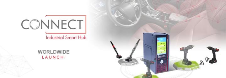 Suntem mândri să introducem CONNECT, noul Hub Industrial Inteligent: o soluție Desoutter 4.0!