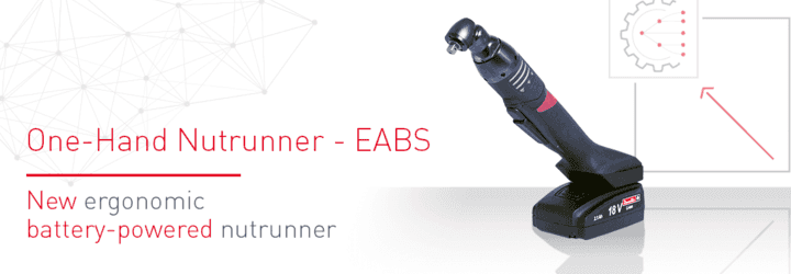 Noua cheie electrică ergonomică cu acumulator: EABS